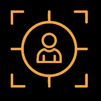icona ricerca e selezione lavoro